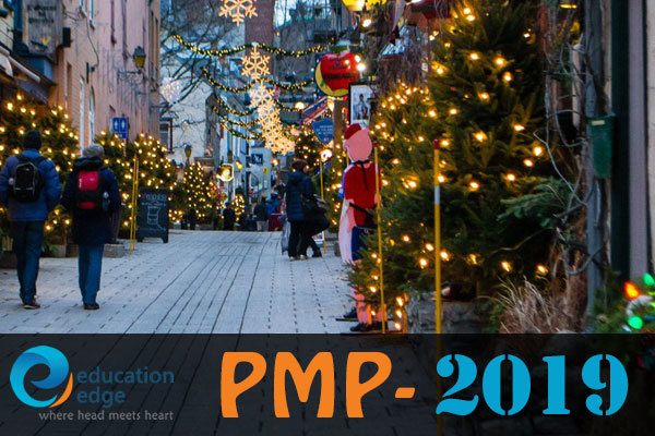 First PMP – 2019