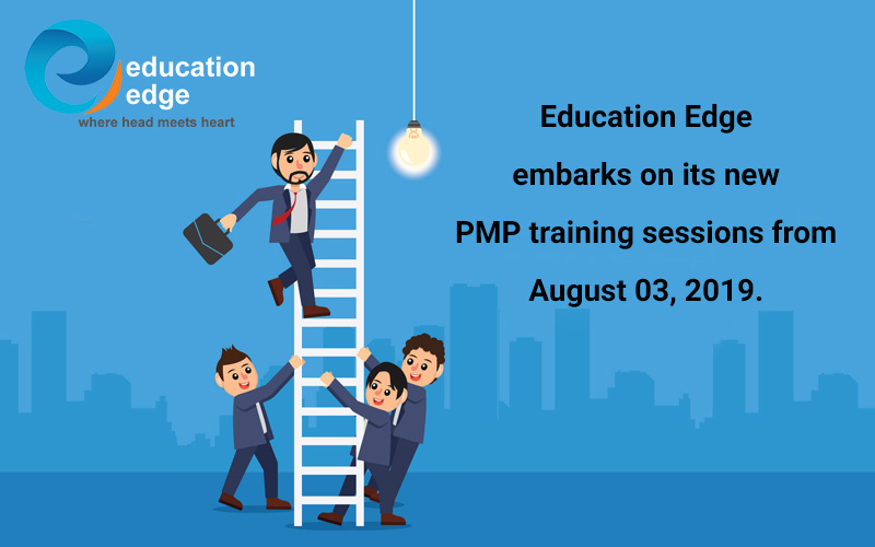 Education Edge embarks on its new PMP training sessions from August 03, 2019