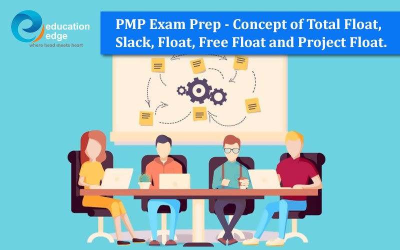 PMP Exam Prep – Concept of Total Float, Slack, Float, Free Float and Project Float.