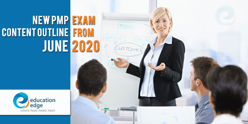 New PMP Exam content outline from June 2020