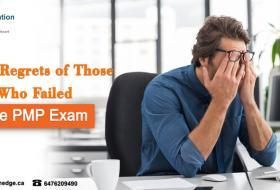 Top 4 regrets of those who failed the PMP Exam