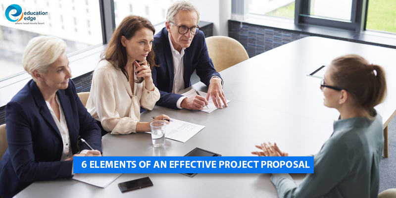 6 Elements of an Effective Project Proposal
