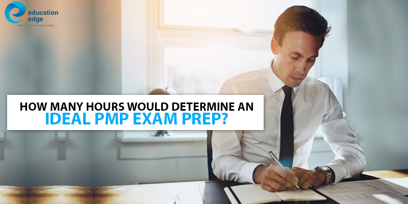 How many hours would determine an ideal PMP Exam prep?