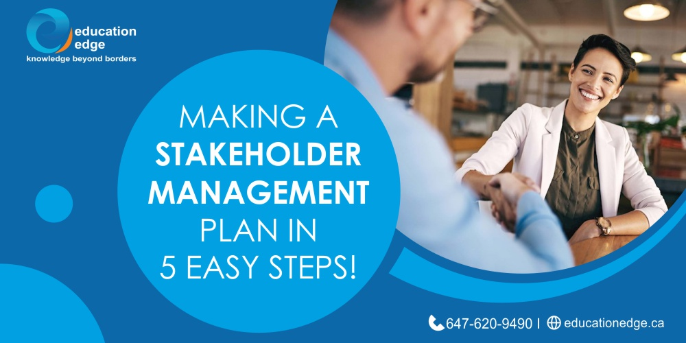 Making a Stakeholder Management Plan in 5 easy steps!