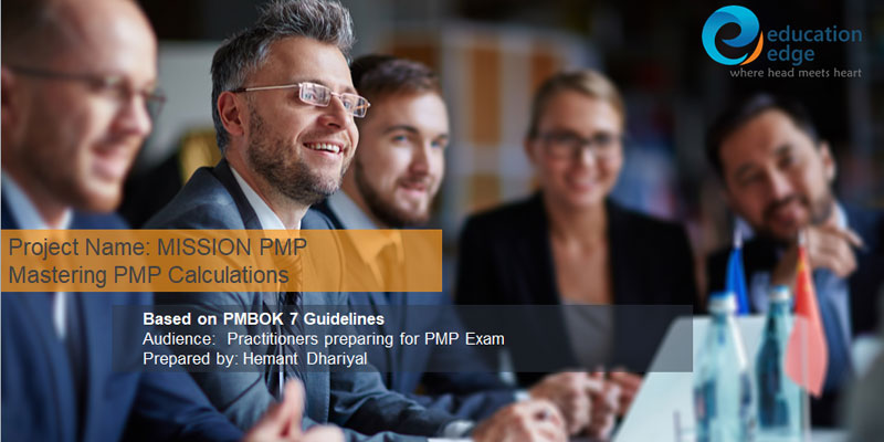 PMBOK 7 PMP Course – All about the PMP Exam cost formulas