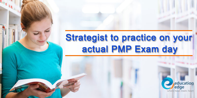 Strategist to practice on your actual PMP Exam day