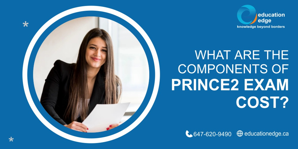 What are the components of Prince2 exam cost ?
